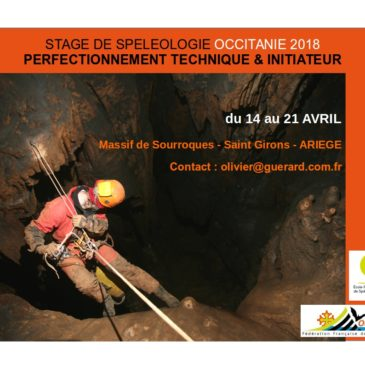 Stage Initiateur Speleo en Ariège – Inscription