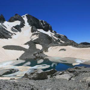 Lac glacé Mt Perdu
