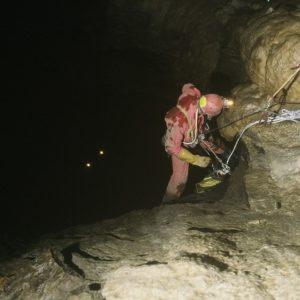 Gouffre du Mounégou-Grand puits
