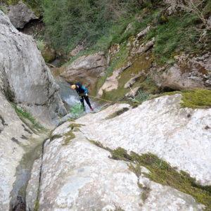 Canyon de Moulis