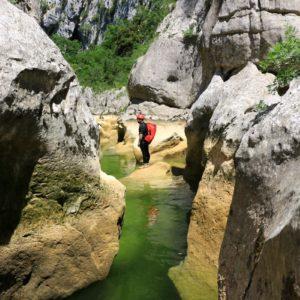 Canyon des Arcs (Hérault)