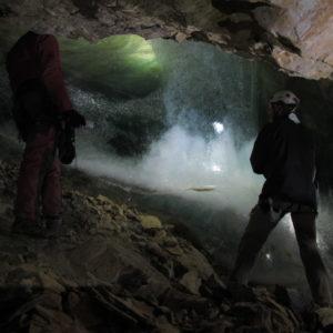 Grotte Devaux- La bulle de glace