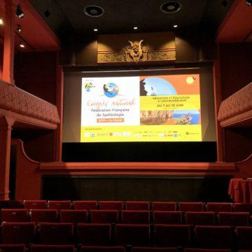 L'Ariège avait rendez-vous au Congrès National de Spéléologie.