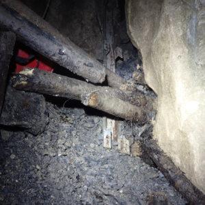 Déblais vue depuis le tunnel ©Nicole Ravaiau